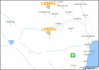 map of Lumakil