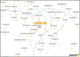 map of Lumalas