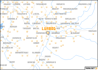 map of Lumbad