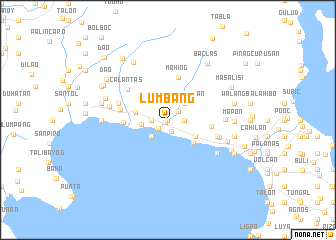 map of Lumbang