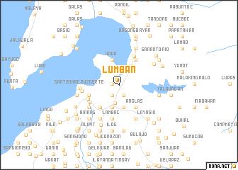 map of Lumban