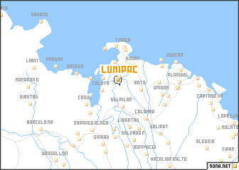 map of Lumipac