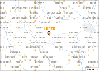 map of Lunca