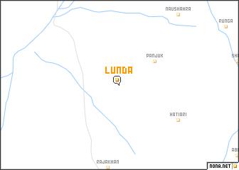 map of Lunda
