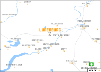 map of Lunenburg