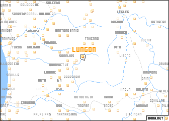 map of Lungon
