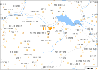 map of Lunre