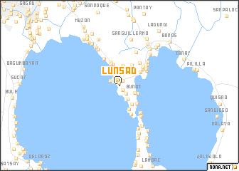 map of Lunsad