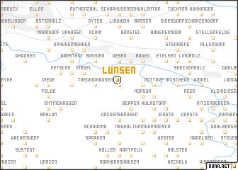 map of Lunsen