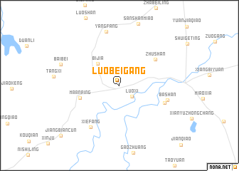 map of Luobeigang