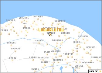 map of Luojialutou