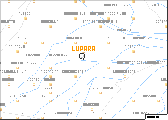 map of Lupara