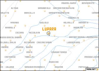 map of Lupara