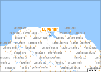 map of Luperón