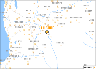 map of Lusong