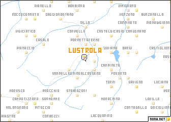 map of Lustrola