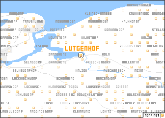 map of Lütgenhof