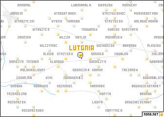 map of Lutgnia