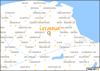 map of Lutjerijp