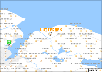 map of Lutterbek
