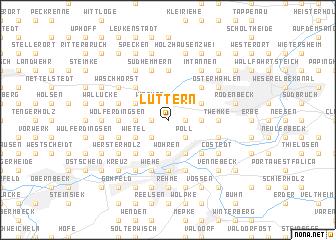 map of Luttern