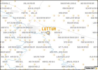 map of Luttum
