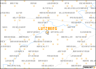 map of Lutzberg
