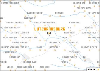 map of Lutzmannsburg