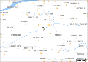 map of Luzhki