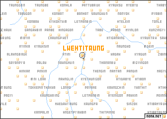 map of Lwehti Taung
