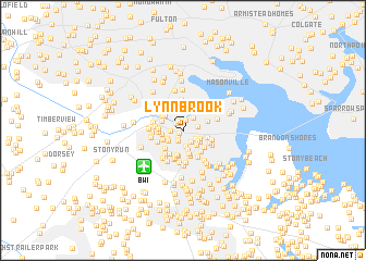 map of Lynnbrook