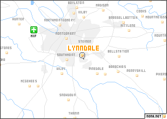 map of Lynndale