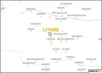 map of Lytkino