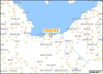 map of Maahas