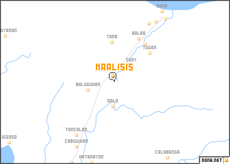 map of Maalisis
