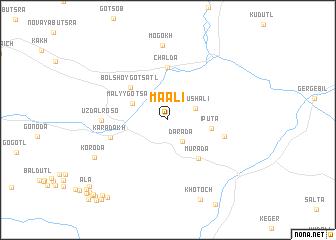 map of Maali