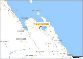 map of Maanahao