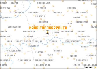 map of Maarif Ben Karrouch