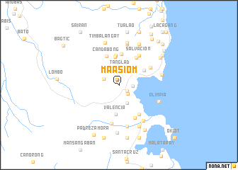 map of Maasiom
