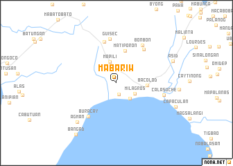 map of Mabariw