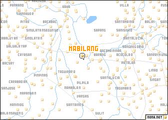map of Mabilang