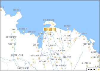 map of Mabini