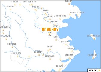 map of Mabuhay