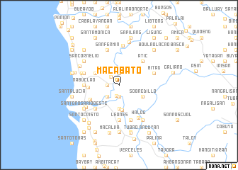 map of Macabato