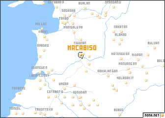 map of Macabiso