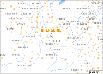 map of Macaguing
