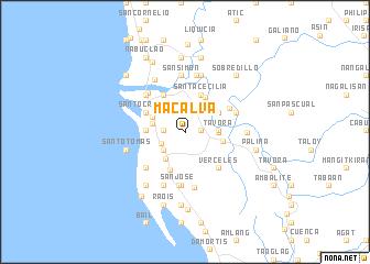 map of Macalva
