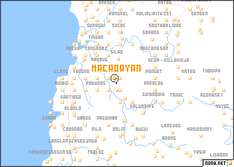 map of Macaoayan