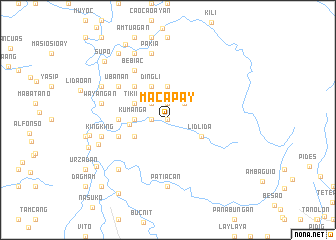 map of Macapay