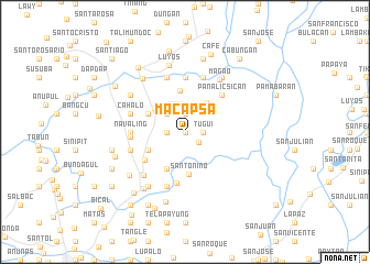 map of Macapsa